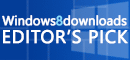 Windows 8 Downloads Award