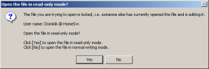 Read-Only Mode on Windows 2000/XP