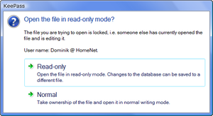 Read-Only Mode on Windows Vista